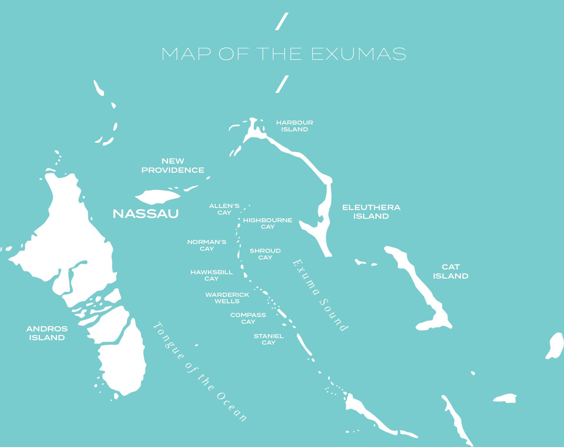 AvYachts Destinations - The Exumas