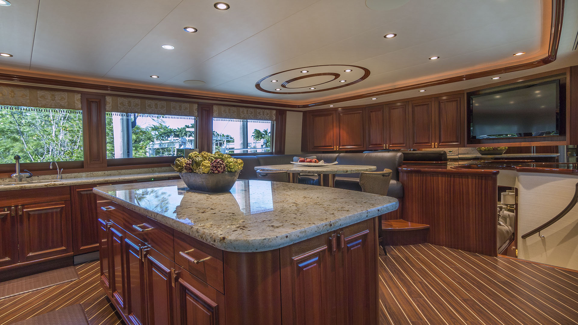 AvYachts 112 Galley