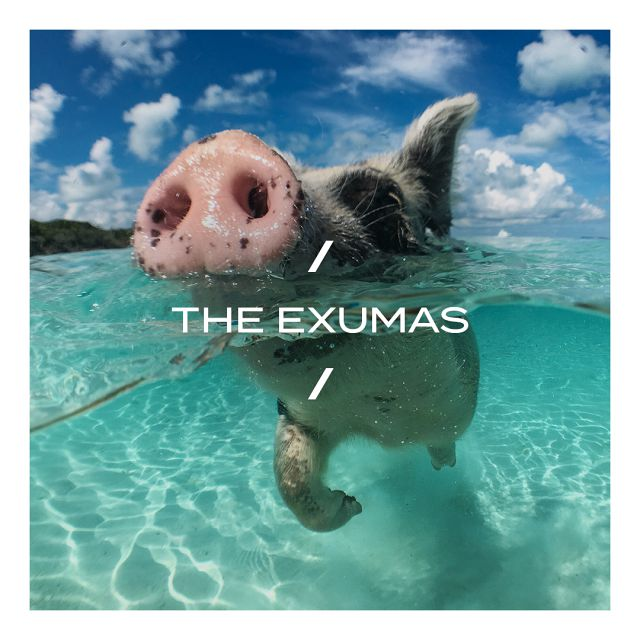 Exhale, you are in Exuma  - 365 islands make up Exuma Cays